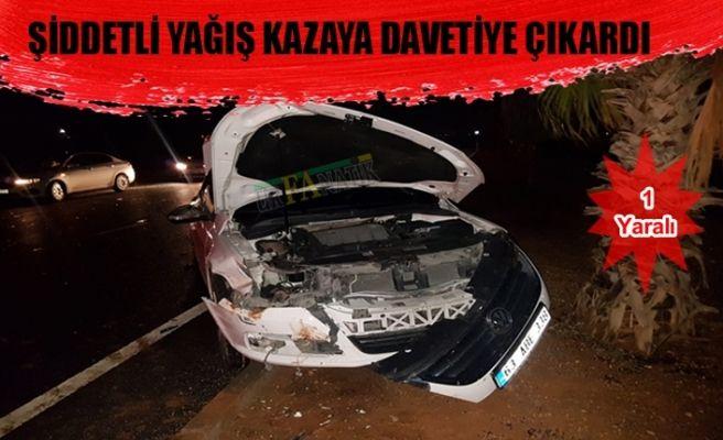 Urfa-Mardin Yolunda Otomobiller Çarpıştı 1 Yaralı