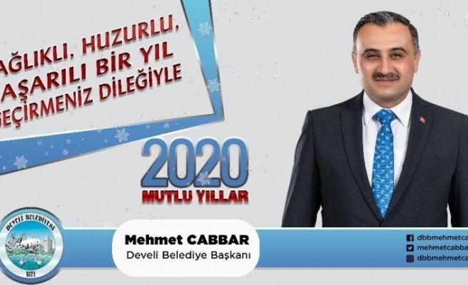 Başkan Cabbar'dan yeni yıl mesajı
