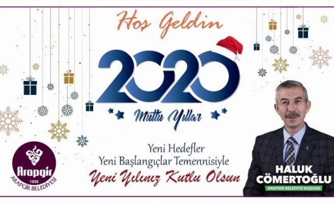 Başkan Cömertoğlu'ndan yeni yıl mesajı