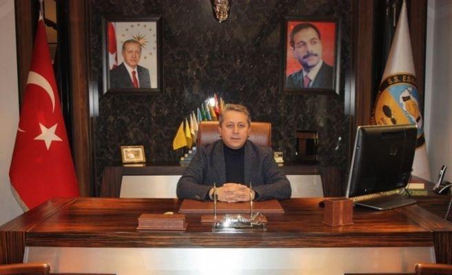 Bölge Başkanı Taşlı'dan yeni yıl mesajı