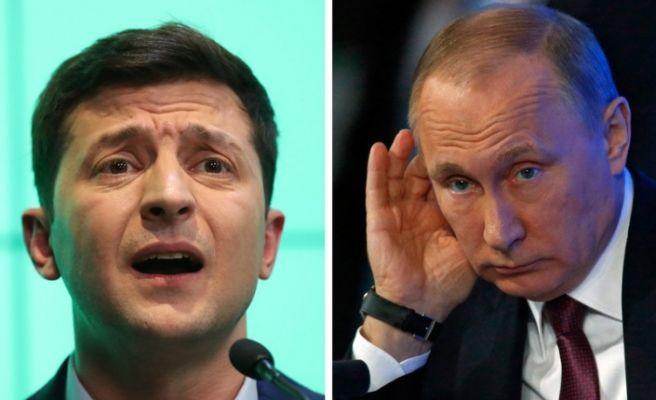 Putin ve Zelenskiy'den 2020'de esir değişimi kararı