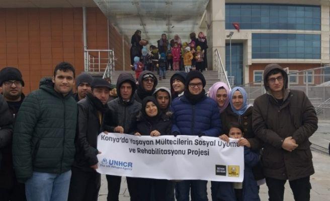 Konya Büyükşehir'den mülteci çocuklar için etkinlik