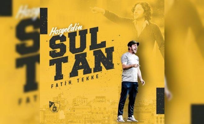 İstanbulspor'da ikinci Fatih Tekke dönemi