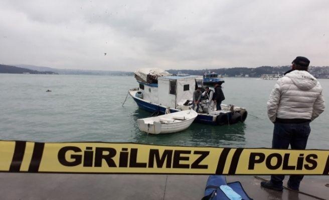 Sarıyer'de; yaşadığı teknede düşen yaşlı adam hayatını kaybetti