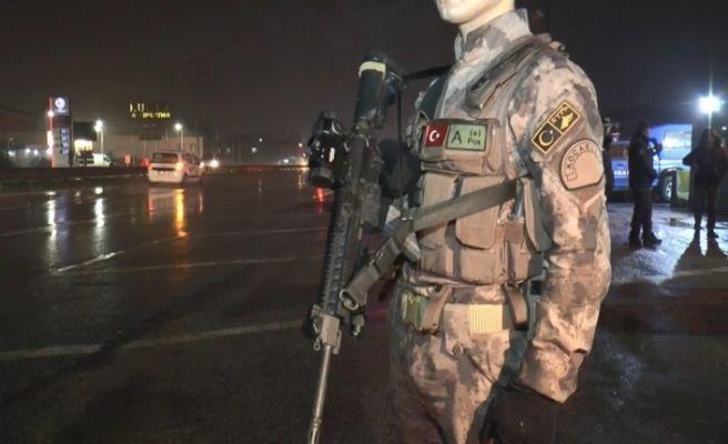 Kocaeli'de 2 bin 300 polis, 872 jandarma yılbaşında görev yapıyor