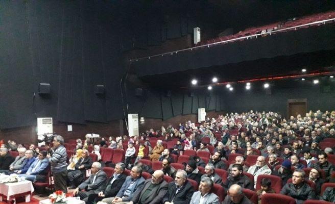 "Kozan'da ""Mekke'nin Fethi ve Kur'an Ziyafeti"" konulu konferans"