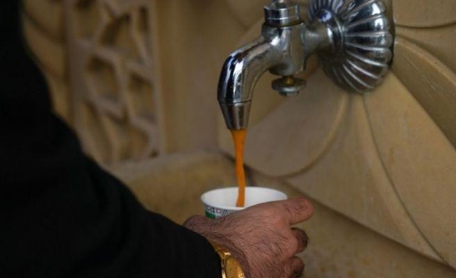Büyükşehir Belediyesi'nden Ergani'de vatandaşlara sıcak çorba ikramı