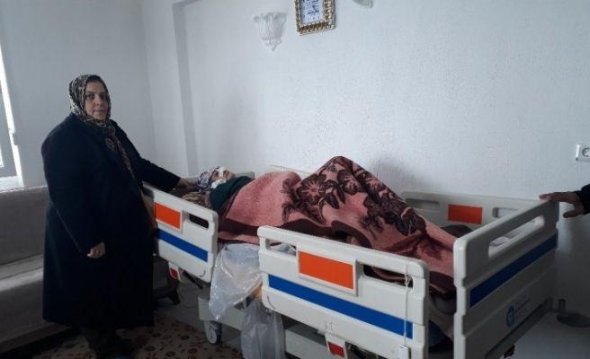 Büyükşehir'in hasta yatağı desteği sürüyor