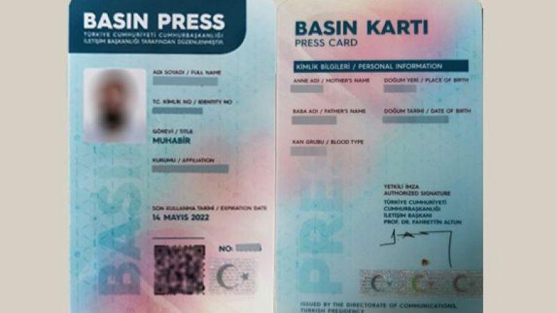 İletişim Başkanı Fahrettin Altun'dan basın kartı açıklaması