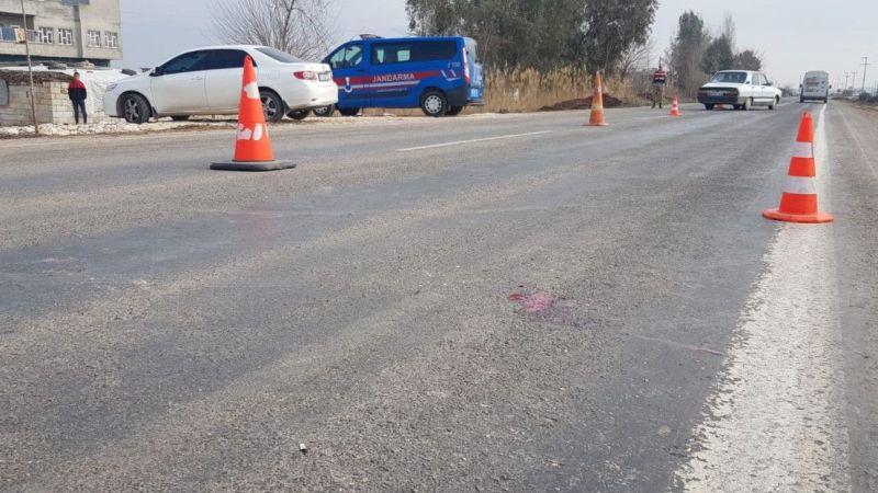 Şanlıurfa'da otomobil çarptığı yaya yaşamını yitirdi