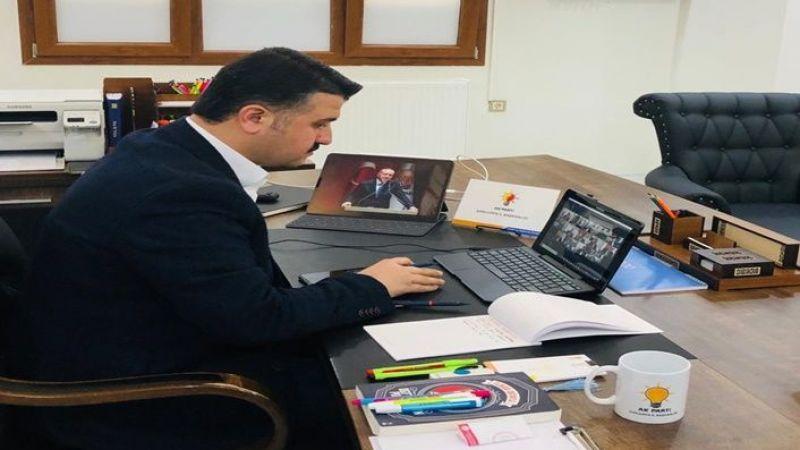 Başkan Yıldız o toplantıya video konferansla katıldı