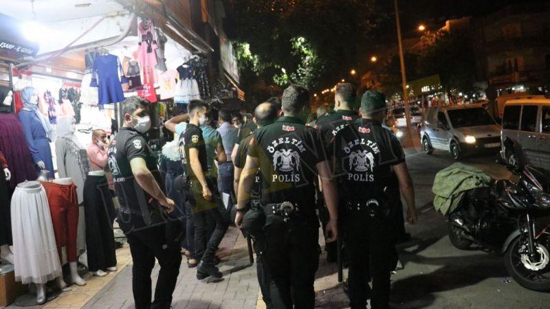 Şanlıurfa'da polisten maskesiz gezenlere ceza!