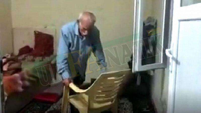 Urfalı yaşlı adamın hali yürek burkuyor!