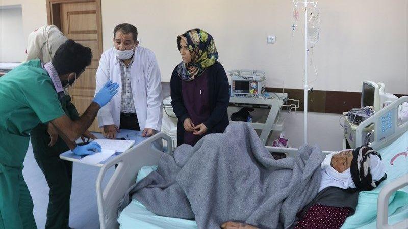 Urfa sınırındaki o hastane şifa dağıtıyor