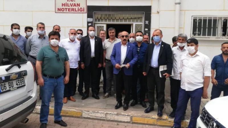 CHP heyeti Şanlıurfa'da çiftçilerin sorunlarını dinledi