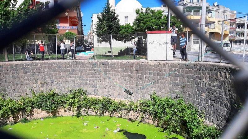 Urfa'da Çocukların kuyuyla tehlikeli oyunu
