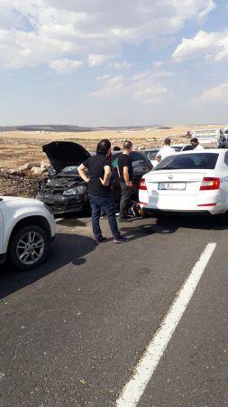 Şanlıurfa'da anız yangını zincirleme kazaya neden oldu: 3 yaralı