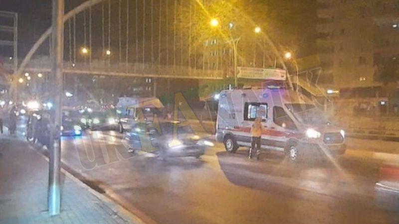 Şanlıurfa'da Motosikletli sürücü, yayaya çarptı