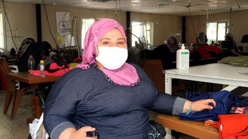 Şanlıurfa'da engelliler 3 bin yetim ve öksüz çocuğu sevindirdi