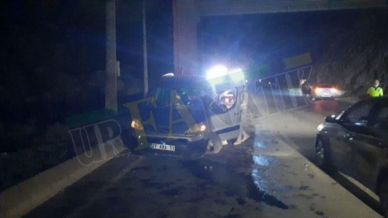 Şanlıurfa'da Ters yöne giren otomobil dehşet saçtı