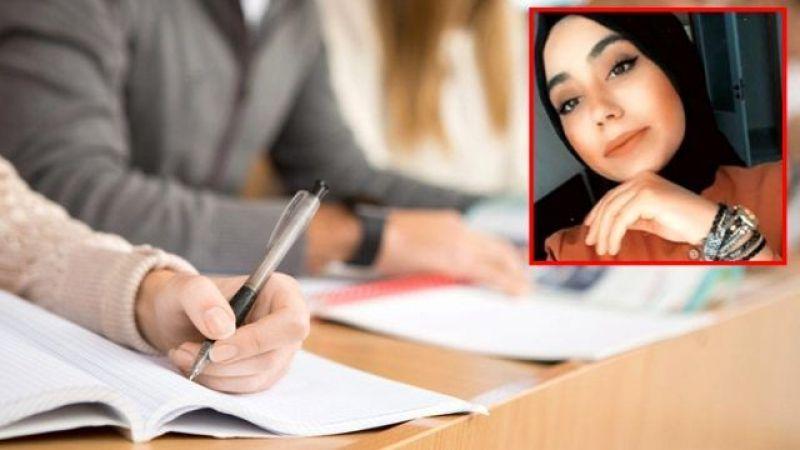 Sınavdan kötü sonuç alan genç kız intihar etti!