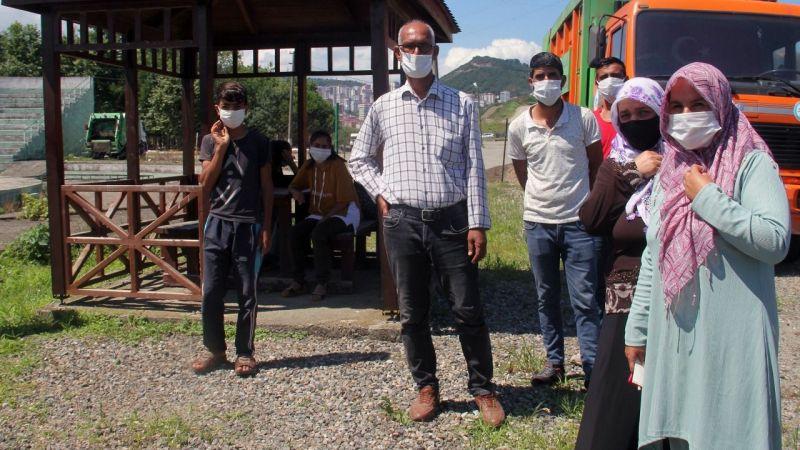 Urfalı tarım işçileri Giresun'da