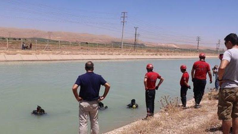 Viranşehir'de sulama kanalına giren çocuk kayboldu