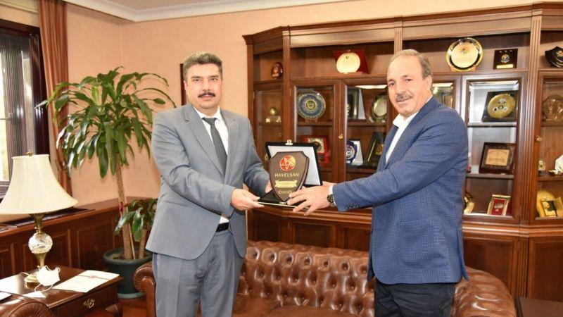Vekil Özcan'dan Urfalı Nacar'a ziyaret