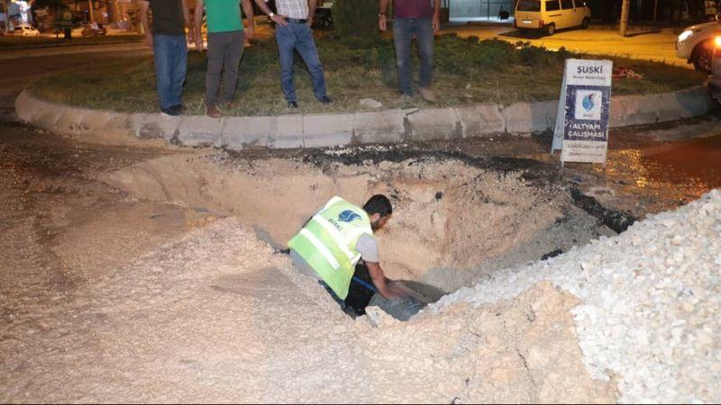 Urfa'nın o mahallesine su verilmeye başlandı