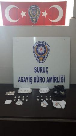 Şanlıurfa'da uyuşturucu operasyonunda bir kişi gözaltına alındı
