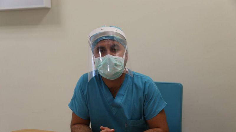 """KOVİD-19 HASTALARI YAŞADIKLARINI ANLATIYOR - Hastalığı zorlu bir tedaviyle atlatan genç doktorlar """"tedbir"""" çağrısı yaptı"""