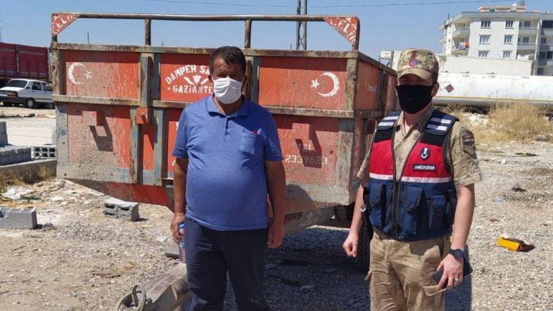 Gaziantep'te römork hırsızlığı zanlıları MOBBESE kameraları sayesinde yakalandı