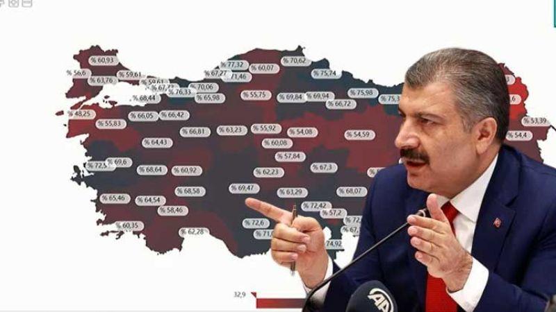İşte Urfa'daki yoğun bakım doluluk oranı! Bakan Koca açıkladı
