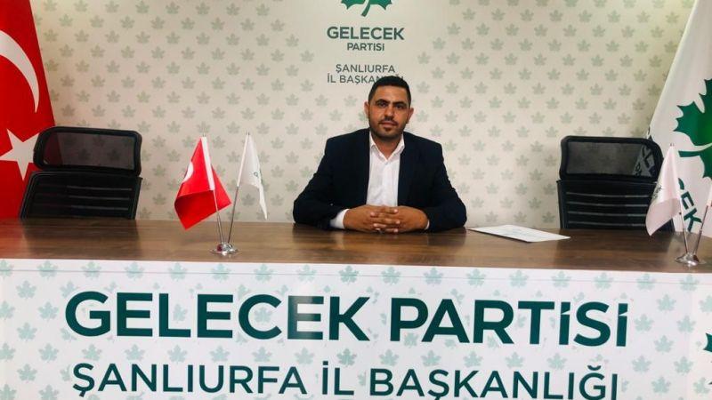 Gelecek Partisi Ceylanpınar İlçe Başkanı belli oldu!