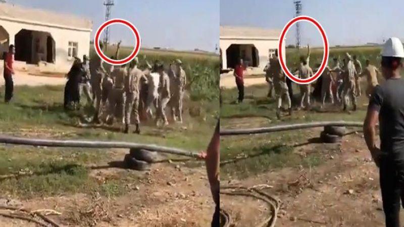 Akçakale'de DEDAŞ ekipleri ile köylüler arasında arbede