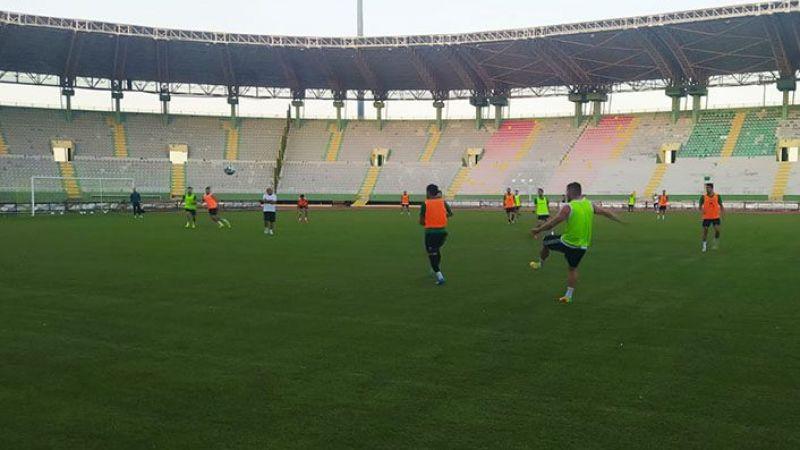 Urfaspor lig maçı hazırlıklarını sürdürüyor!