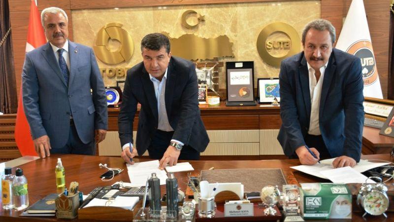 Urfa'da kardeşlik protokolü imzalandı