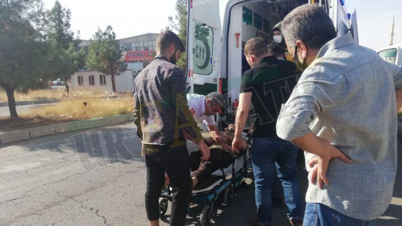Urfa'da elektrikli bisiklet kazası