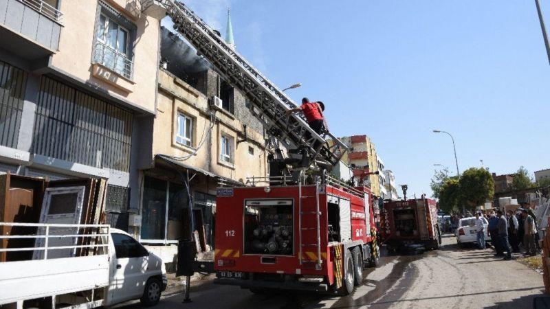Urfa'da acı tesadüf: Hem evi hem dükkanı