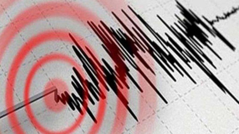 4,8 büyüklüğünde şiddetli deprem