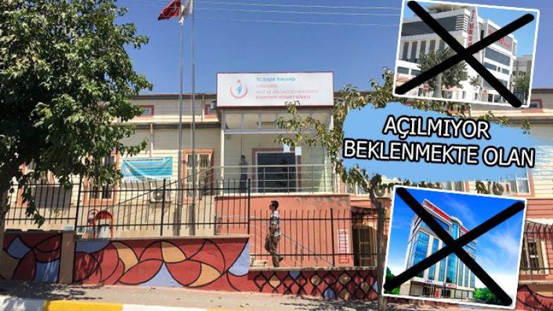 Beklenen hastaneler açılmadı: Urfa'daki o hastane yoğun bakım oluyor