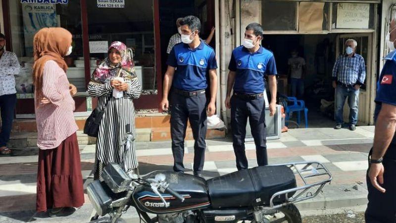 Urfa'nın o ilçesinde dilenciler toplatıldı