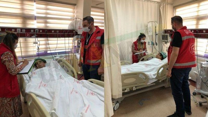 Urfa'da kocasından işkence gören kadından sıcak gelişme