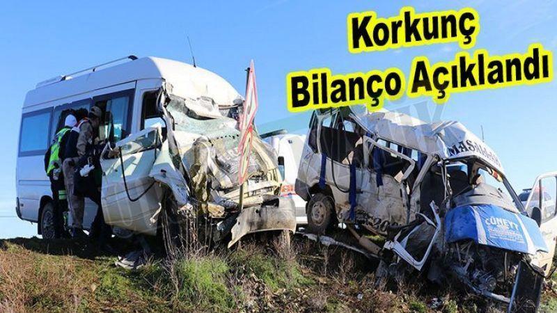 Urfa'nın 4 aylık trafik bilançosu açıklandı
