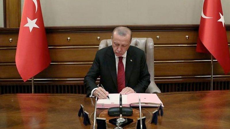Başkan Erdoğan İmzaladı: Gece yarısı flaş atamalar