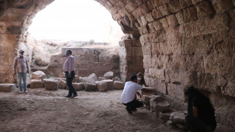 9 asırlık Harran Sarayı'nın ana kapısı gün yüzüne çıktı
