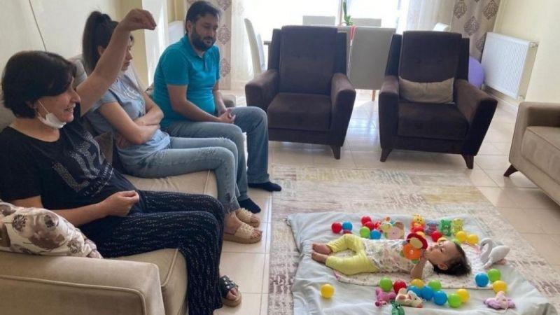Urfalı Alara yardım bekliyor: Daha 16 aylık