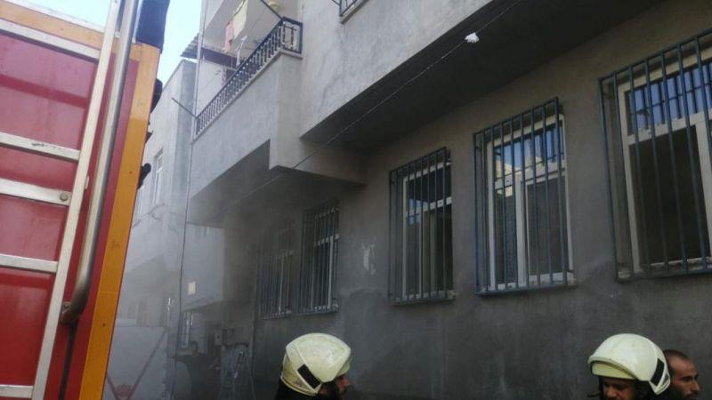 Şanlurfa'da ev yangını