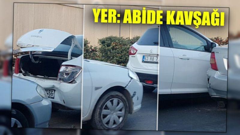 Urfa'da kazalar ard arda geliyor: Tam 9 araç birbirine girdi