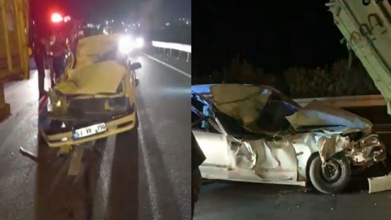 Şanlıurfa'da otomobil kamyona arkadan çarptı: 1 yaralı